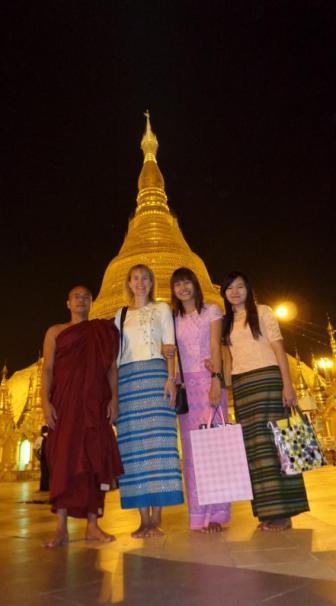 28.01.2015 - Yangon, mit Khin und Hsuhsu auf der Shwedagon Paya